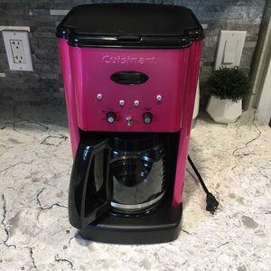Cuisinart Metallic Pink Coffee Maker